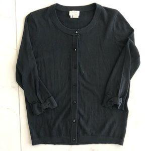 Authentic Kate Spade Black Cardigan sweater